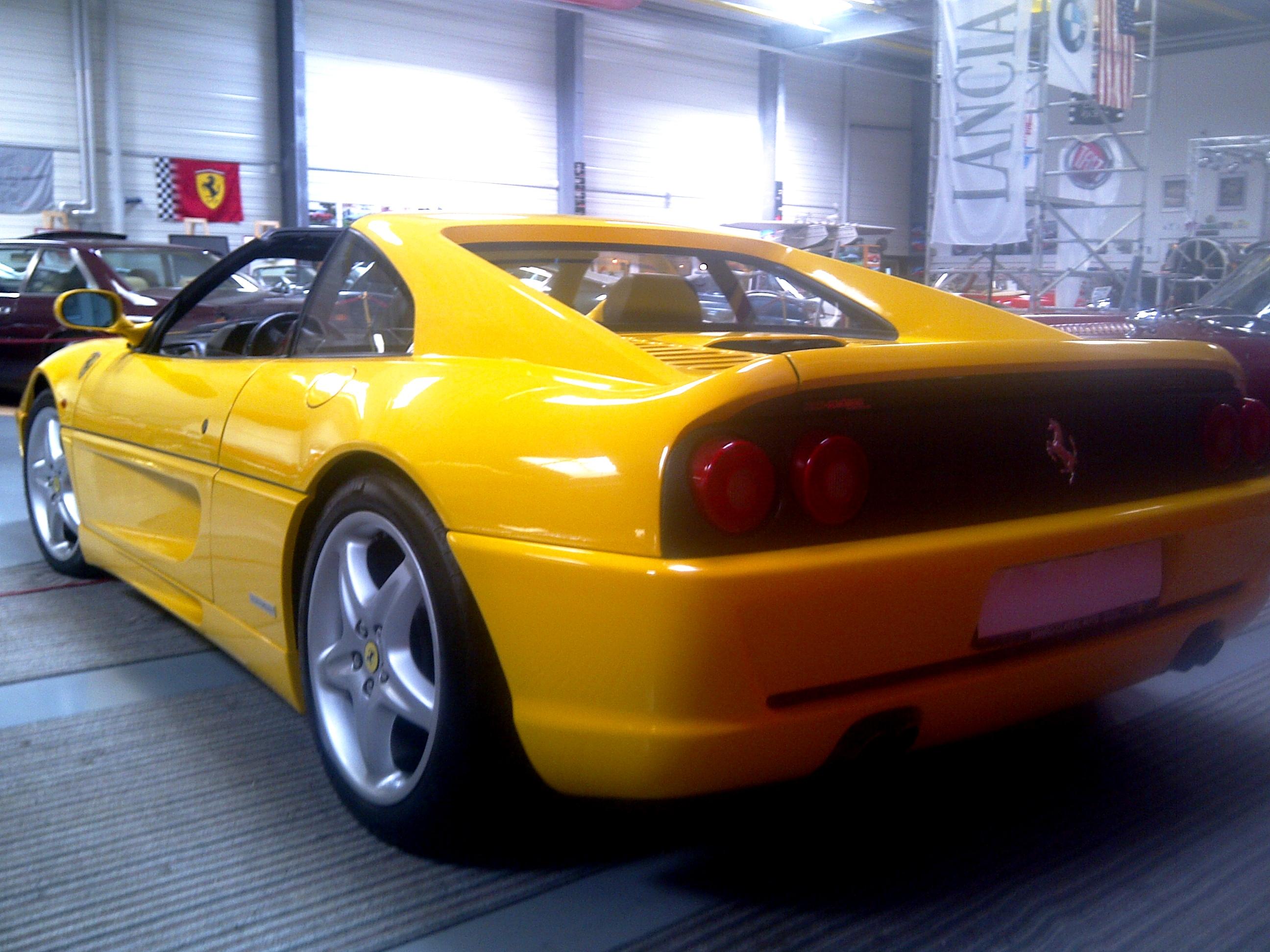 F%20355%20Heck Breathtaking Ferrari Mondial T Cabrio Kaufen Cars Trend