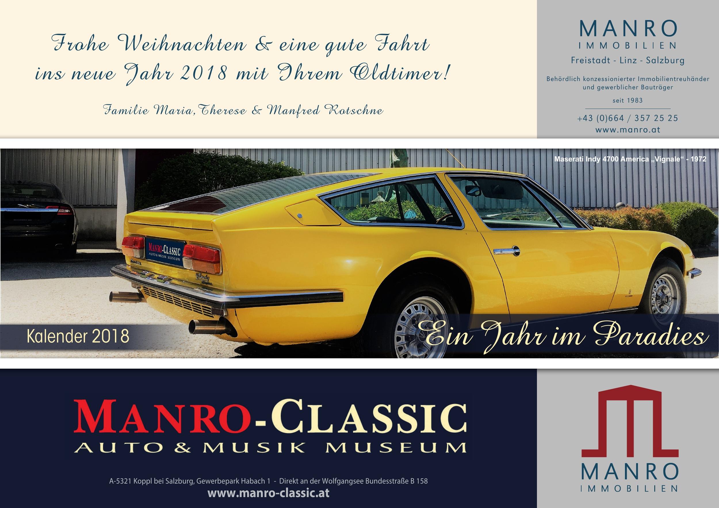 Frohe Weihnachten Hindi.00 Deckblatt Kalender 2018 Jpg Manro Classic Auto
