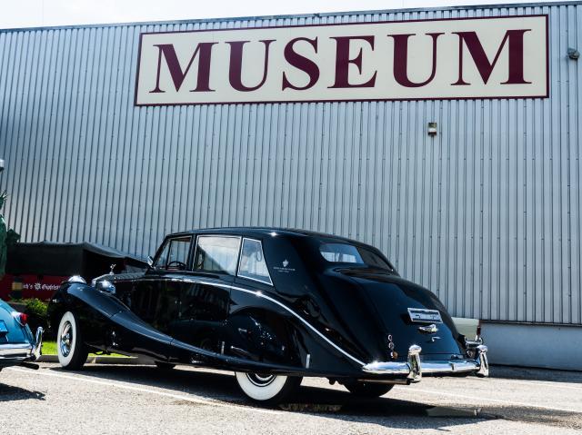 Rolls Royce Silver Wraith 'Hooper Coachbuilt'