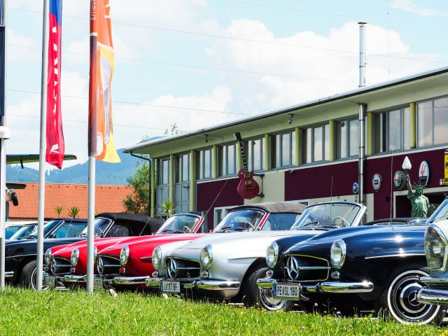 Interessensgemeinschaft Mercedes-Oldtimer Linz zu Besuch