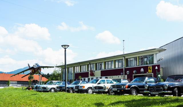 Interessensgemeinschaft Mercedes-Oldtimer Linz zu Besuch 2