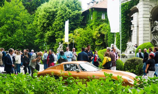 Ferrari 275 GTB bei Villa d'Este / Villa Erba